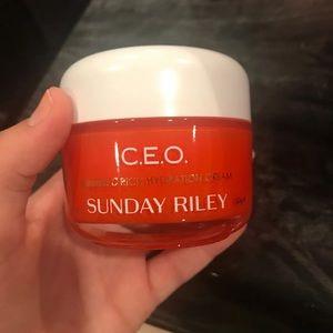 Sunday Riley CEO Orange Moisturizer
